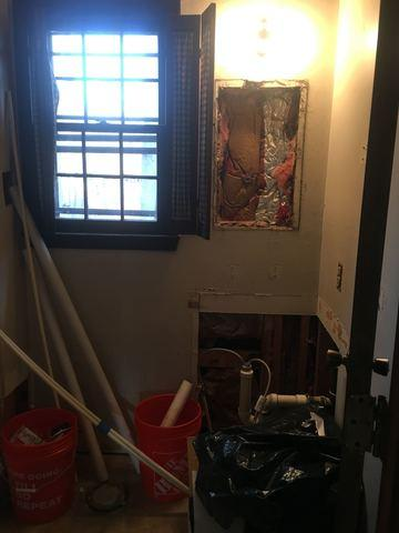A Bathroom Remodel in Pasadena, MD - Before Photo