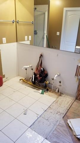 Bathroom Remodeling Oasis in Clarksville, MD - Before Photo