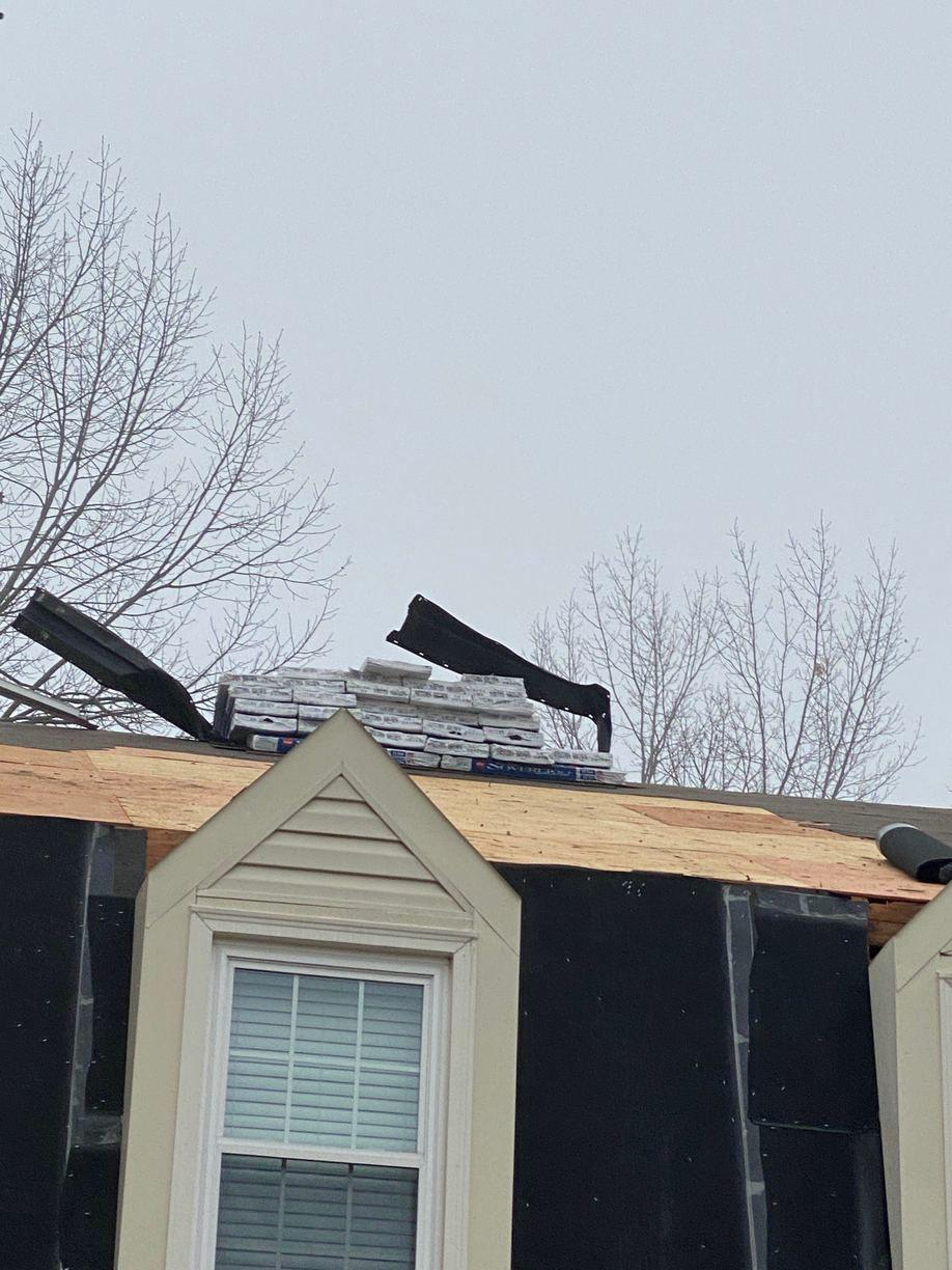 Roofing Replacement in Old Town Manassas, VA - Before Photo