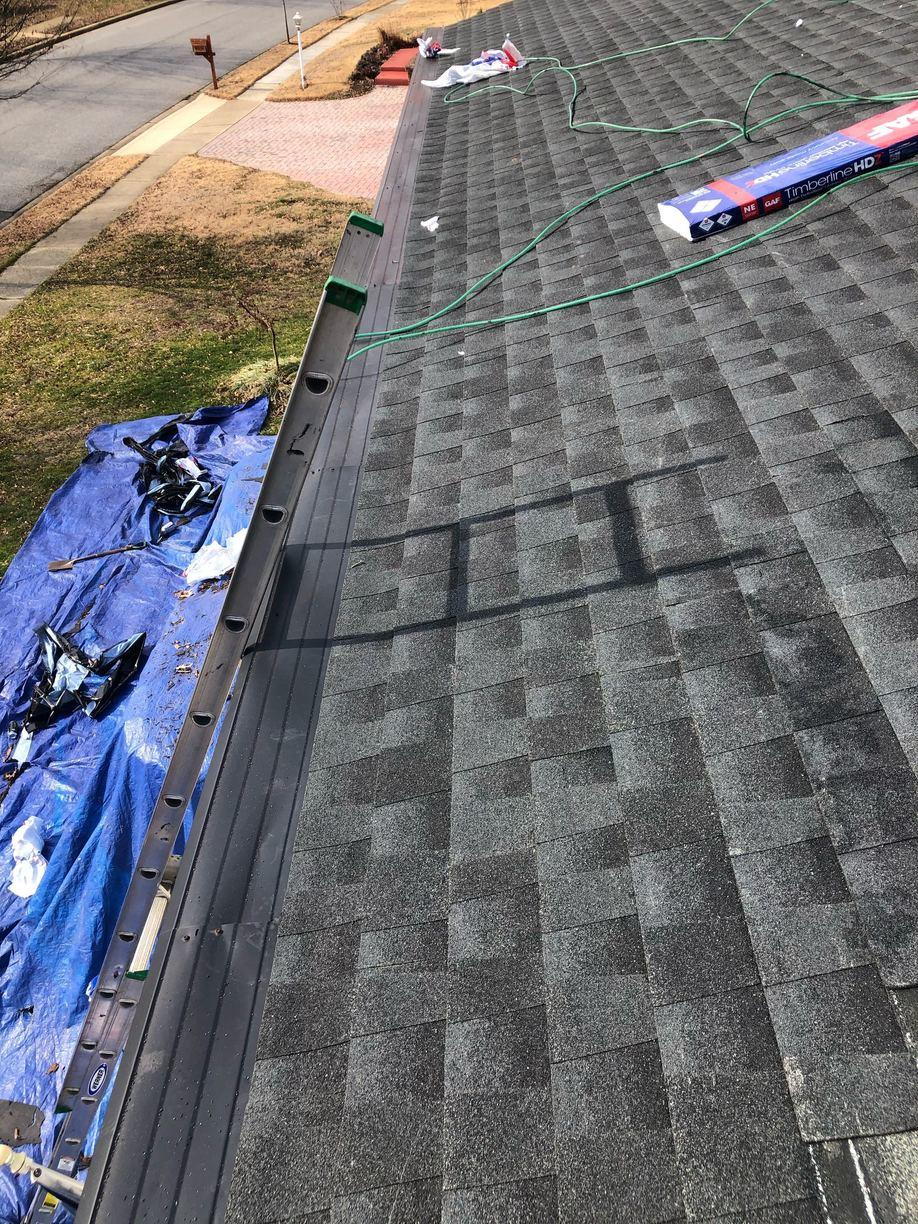 Roof Repair in Annapolis, MD - After Photo