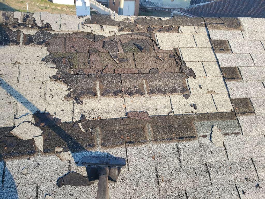 Roof Repair in Rosedale, MD - Before Photo