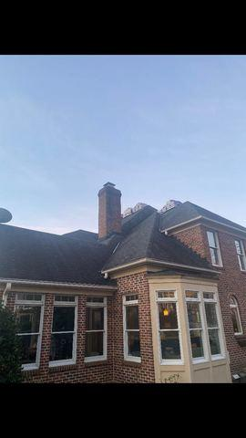 Roof Replacement in Waterford, VA - Before Photo