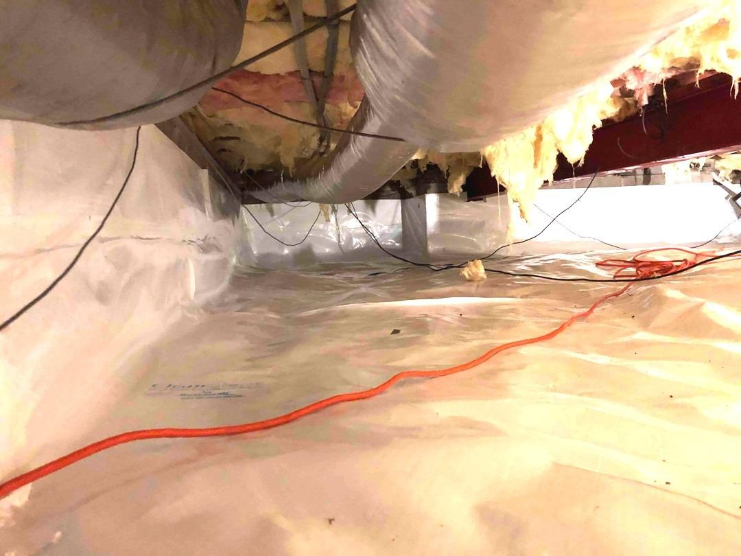 Crawl Space Repair in Connersville, IN - After Photo