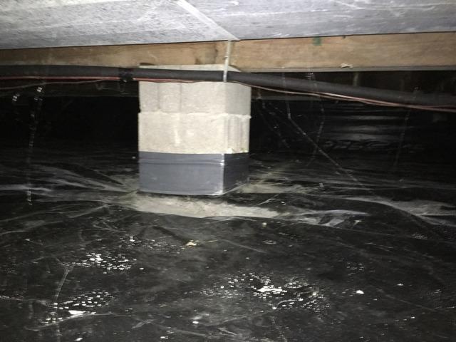 Crawl Space Waterproofing in Martinsville, IN
