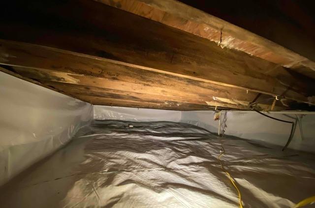Crawl Space Repair in Milan, IN - After Photo