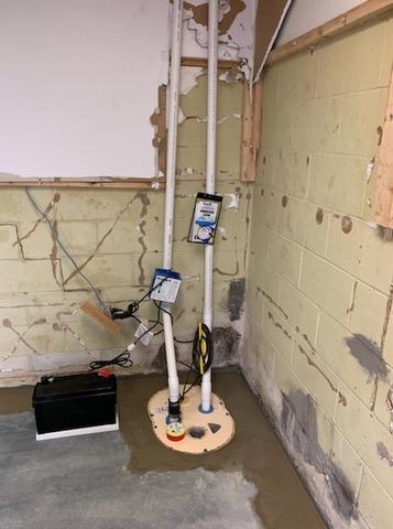 Wet Basement in Terre Haute, IN