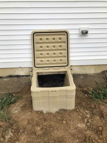 Crawl Space Entrance Install in Alexandria, IN
