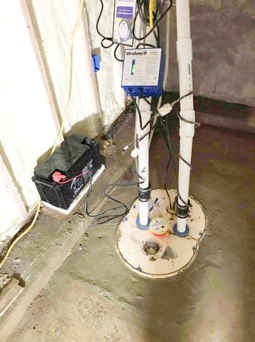 Basement Waterproofing in Markleville, IN