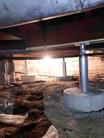 Sagging Floor Repair in Alexandria, IN