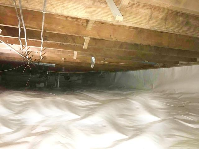 Crawl Space Repair in Richmond, IN - After Photo