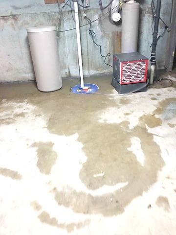 Wet Basement in La Fontaine, IN