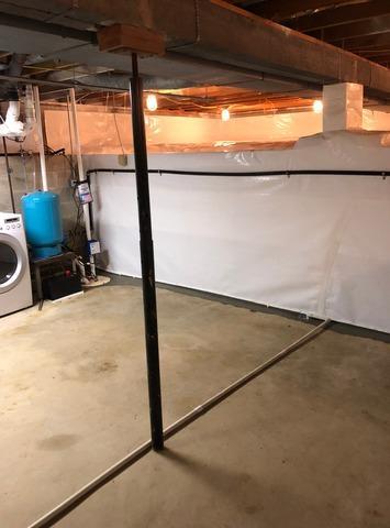 Basement Waterproofing in Greencastle, IN