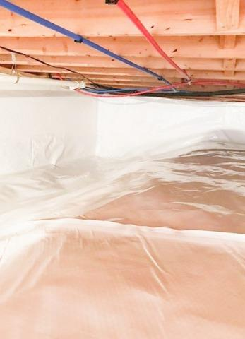 Mold and Wood Rot Crawl Space Repairs in Hartford City, IN