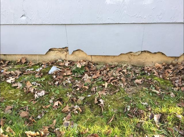 Cracked Foundation in Yorktown, IN