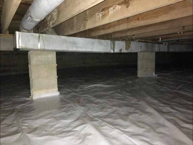 Crawl Space Encapsulation in Morristown, IN