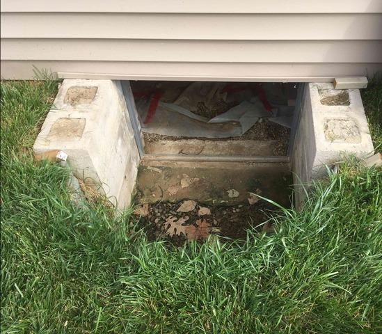 Crawl Space Door Installation in Columbus, IN