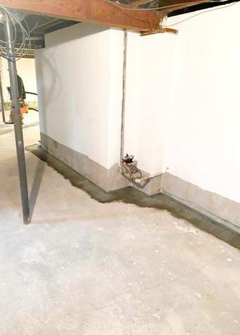 Basement Waterproofing in Richmond, IN - After Photo
