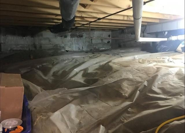 Crawl Space Vapor Barrier in Indianapolis, IN