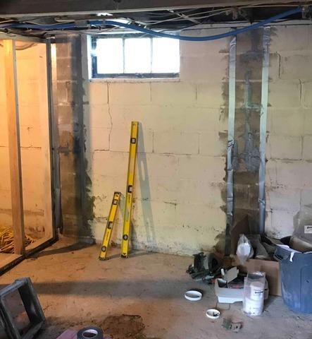 Basement Wall Repair in Bloomington, IN