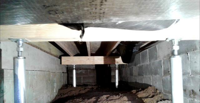 Sagging Floor Repair in Terre Haute, IN