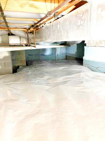 Crawl Space Vapor Barrier Encapsulation in Bloomington, IN