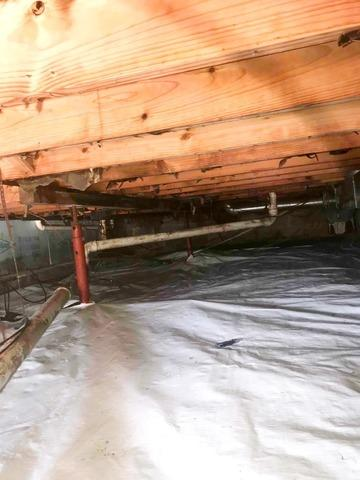 Crawl Space Vapor Barrier Encapsulation in Greenwood, IN