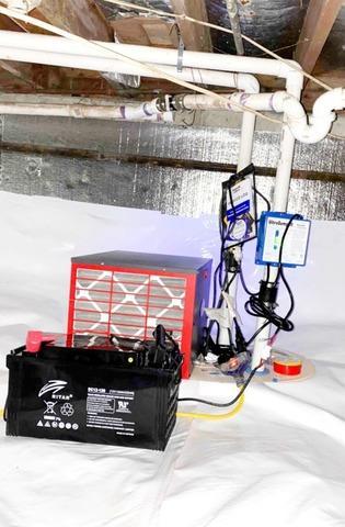 Crawl Space Waterproofing in Wabash, IN