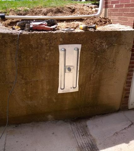 Foundation Wall Repair in Covington, IN