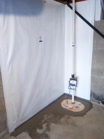 Basement Waterproofing in Union Township, IN