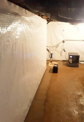 Basement Waterproofing in North Vernon, IN