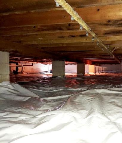 Crawl Space Waterproofing in Cambridge City, IN