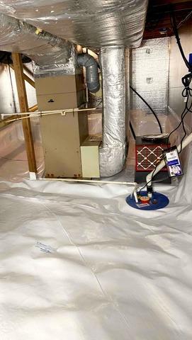 Crawl Space Waterproofing in Liberty, IN