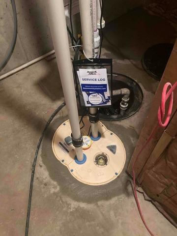 Sump Pump Replacement in Markleville, IN
