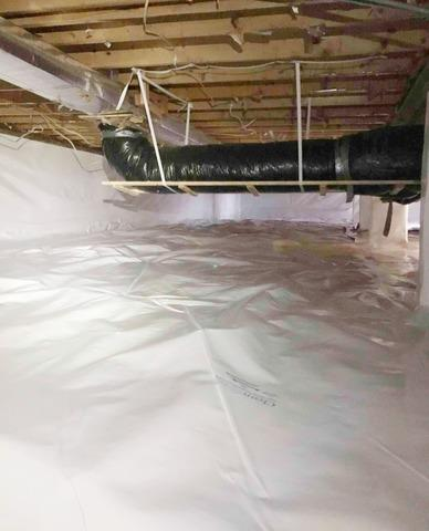 Crawl Space Encapsulation in Noblesville, IN