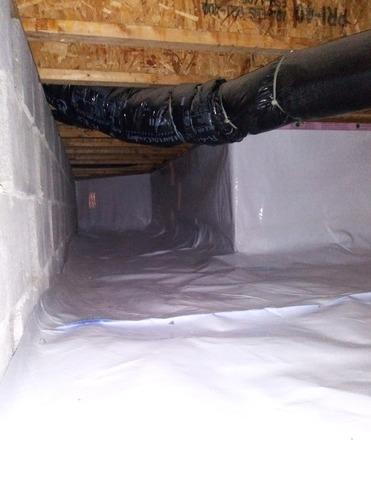 Crawl Space Waterproofing in Albany, IN