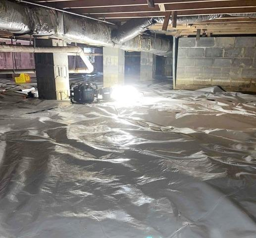 Crawl Space Waterproofing in Crothersville, IN