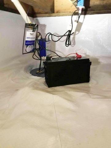 Crawl Space Waterproofing in Arcadia, IN