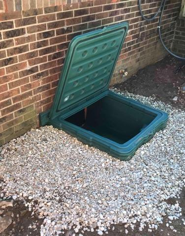 Crawl Space Door Install in Indianapolis, IN
