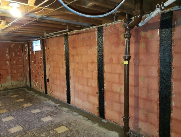 Foundation Wall Repair in Beech Grove, IN
