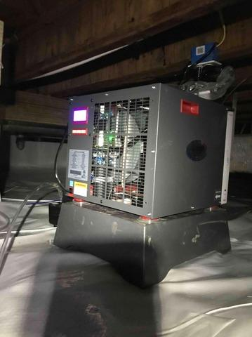 Crawl Space Dehumidifier in Anderson, IN