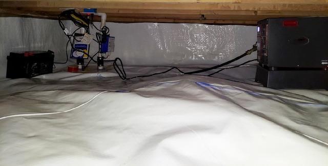 Crawl Space Dehumidification in Anderson, IN