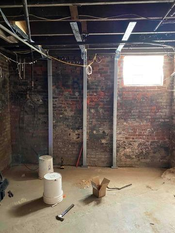 Foundation Wall Repair in Franklin, IN