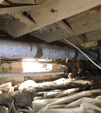 Crawl Space Repair in Anderson, IN