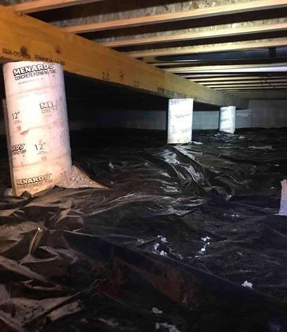Crawl Space Repair in Trafalgar, IN