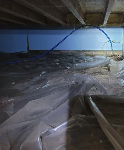 Crawl Space Vapor Barrier and Insulation in Westfield, IN