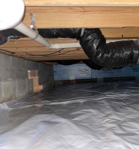 Crawl Space Vapor Barrier in Muncie, Indiana