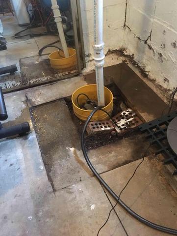 Wet Basement in Crawfordsville, IN