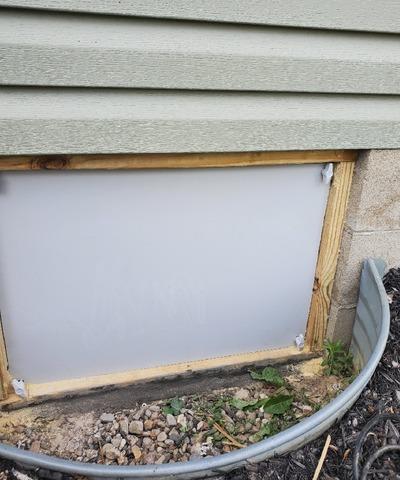 Crawl Space Door Install in Connersville, IN