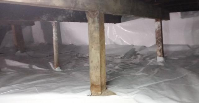 Crawl Space Vapor Barrier in Anderson, IN