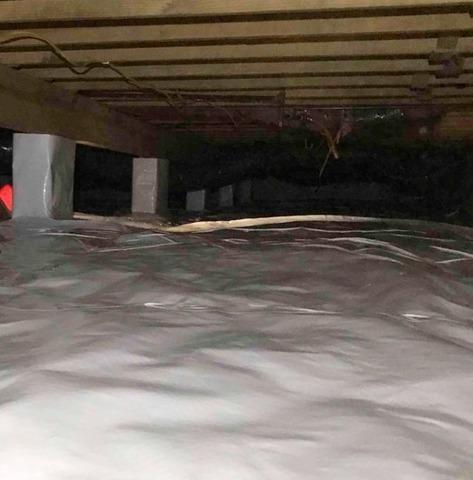 Crawl Space Waterproofing in Greentown, IN
